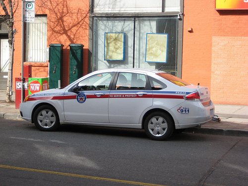 Toronto parking enforcement vehicle