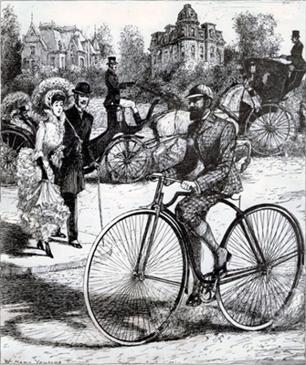 1884 first bicycle