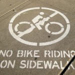 Washington D.C. residents against sidewalk biking