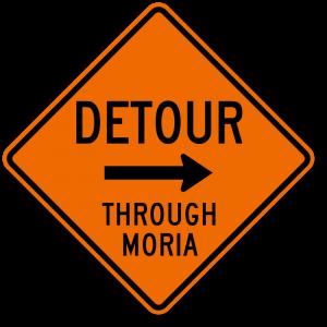 detour-through-moria-funny-sign-k-0403