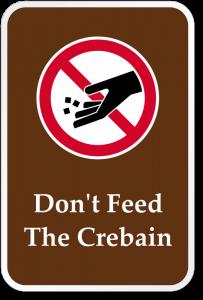 funny-dont-feed-crebain-sign-k-0393