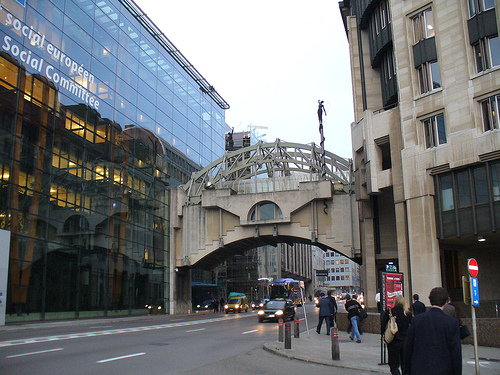 Brussels bridge