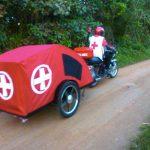 Bike ambulances deliver healthcare in rural Africa