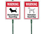 LawnBoss® Dog Warning Sign