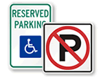 MUTCD Parking Signs