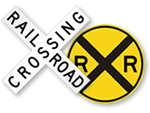 Railroad Crossing Signs