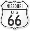 Missouri Route Marker Shield Sign