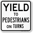 Traffic Caution Sign
