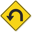 Hairpin Curve Left